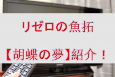 リゼロの魚拓【胡蝶の夢】を紹介!